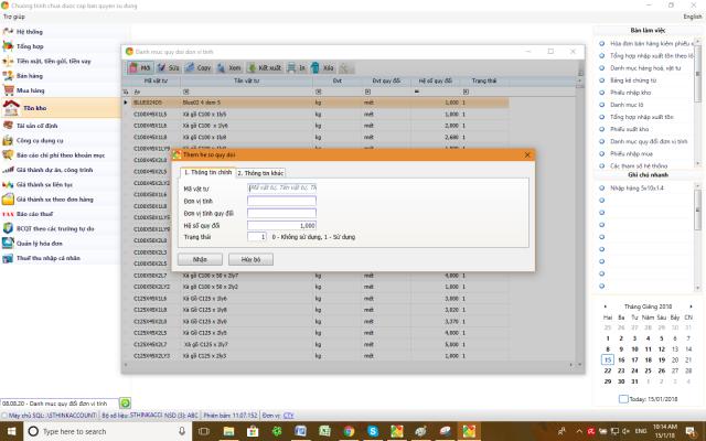 Phần mềm quản lý gia công sắt thép