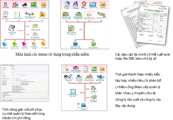 Phần mềm kế toán chuẩn SThink
